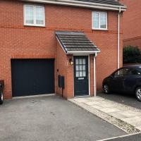 Modern stylish flat over garage