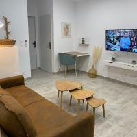 Spacieux T2 proche stade Brutus et Giral, hotel near Perpignan - Rivesaltes Airport - PGF, Perpignan
