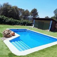 Cerca de Barcelona en Casa Rural 1 habitación de 3 ,baño privado,wifi gratis, jardín, hotel en Barcelona