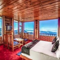 LA Riqueza Hotels - Raunsali Kanatal - Beautiful Snowcap Gangotri View