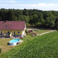 Haus Sonberg mit Garten, semi detached house with garden