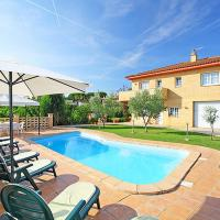 Villa with 4 bedrooms in Girona with private pool terrace and WiFi