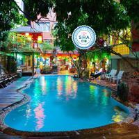 Villa Cha-Cha Banglumphu, hotel en Bangkok