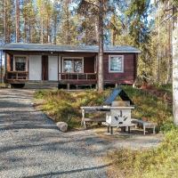 Holiday Home Ylikitkajärvi- kesäkumpu, hotelli kohteessa Orjasniemi