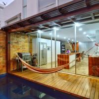 Un espacio para descansar, trabajar y disfrutar, hotel em Loja