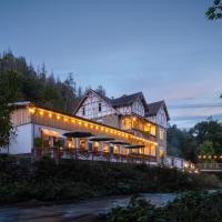 Bodetaler Basecamp Lodge, Hotel in Höhlenort Rübeland