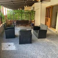 Ground floor apartment with big balcony, hotel near Larnaca International Airport - LCA, Larnaca
