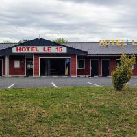 Hôtel Le 15, hotel in Coulounieix-Chamiers
