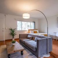 Furnished Natural Zen Jungle Studio by LAXw Desk