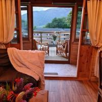 Unique Caravan with Outdoor Space Lodge