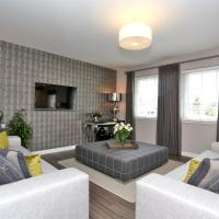 Bright Priory park Apartment in Aberdeen