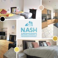 Nash Apartments Short Term Lets & Serviced Accommodation Reading - 2 Bedroom City-View Apartment
