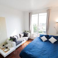 CHARMANT STUDIO COSY À 5 MIN DU LAC D'ENGHIEN, hotel in Enghien-les-Bains
