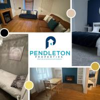 Stylish 2 Bedroom House by Pendleton Properties Short Lets & Serviced Accommodation in the beautiful Ribble-Valley with Wifi