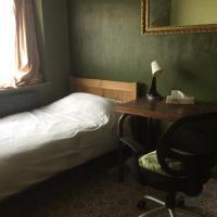 Single warm comfortable room