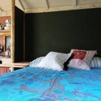 Stargazer Shepherds Hut A warm and cosy getaway