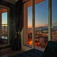Skylux 32nd floor fitness and spa luxury apartment