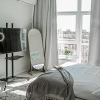 Стильная квартира с панорамным видом, отель в Краснодаре