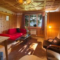 Urchige, wunderschöne 3Zi-Bergwohnung in Holzhaus