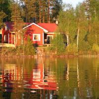 Holiday house in Gnosjo with amazing lake view