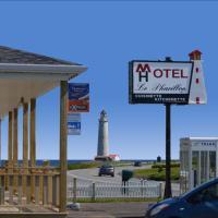 Hôtel-Motel Le Pharillon, hotel em Cap-des-Rosiers