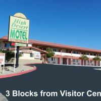High Desert Motel Joshua Tree National Park, hotel in Joshua Tree