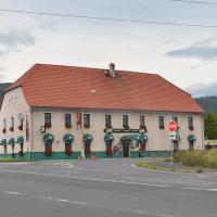 Motorest Penzion na Bojišti, отель в городе Chlumec