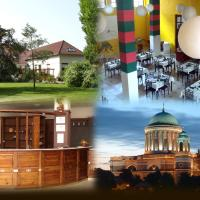Róza Hotel és Apartmanház, hotel en Esztergom