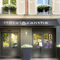 Hotel Acanthe - Boulogne Billancourt, viešbutis mieste Bulonė-Bijankūras