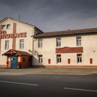 Třebovický mlýn, hotelli Ostravassa