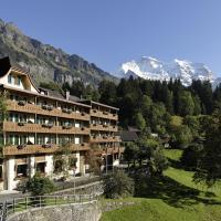 Hotel Alpenrose Wengen - zwischen Tradition und Moderne، فندق في ون قن