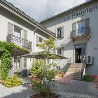 Le Faucigny - Hotel de Charme, hotell i Chamonix-Mont-Blanc
