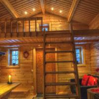 Cottage On Wild River In Lapland/Sweden, hotel in Karlsten