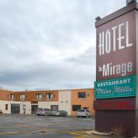 Hotel Le Mirage, hotel em Saint-Basile-le-Grand