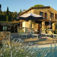 Villa Guarda Mare, hotell i Roccatederighi