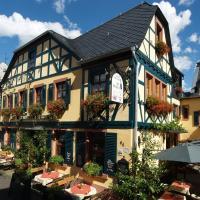 Weinhotel des Riesling Zum Grünen Kranz, hotel in Rüdesheim am Rhein