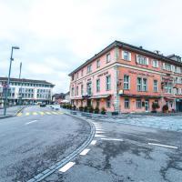 Hotel Rotes Haus, отель в городе Бругг
