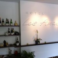 Hotel Les Amandiers, отель в городе Турнон-сюр-Рон