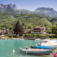Hotel Le Cottage Bise, hotel in Talloires