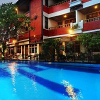 Green Garden Hotel, hotel di Kuta