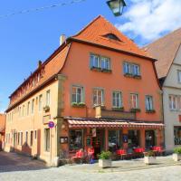 Hocher Hotel & Cafe, Hotel in Rothenburg ob der Tauber