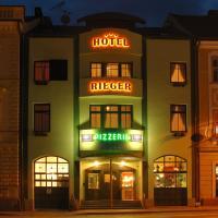 Hotel Rieger Garni, hotel in Jičín