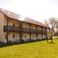 Spreewald Pension Spreeaue, отель в городе Бург
