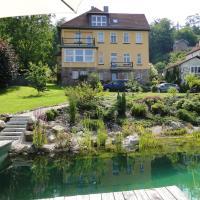 Pension Villa am Burgberg, отель в городе Вальтерсхаузен