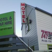 747 Motel & Car Hire, hotel near Wellington Airport - WLG, Wellington