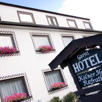 Hotel Kölner Hof Refrath, hôtel à Bergisch Gladbach