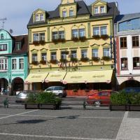 Hotel Labuť, hotel in Vrchlabí
