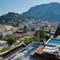 Capri Tiberio Palace, отель в Капри