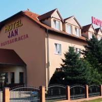 Hotel Jan, отель в Згожелеце