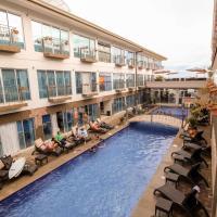 Beachfront Hotel Tramonto, hotel in Jacó